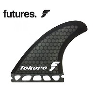 FUTURE FINS フューチャーフィン RTM HEX FWT TOKORO TOKOROデザイン RTM HEX シリーズ SMOKE スモ-ク トライフィン 65-88kg (blk)