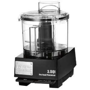 Waring Commercial WFP14SW Sealed Space-Saving Batch Bowl Food Processor with LiquiLock Seal System,...