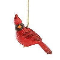 LenoxクリスマスCardinal Bird Porcelain Ornament