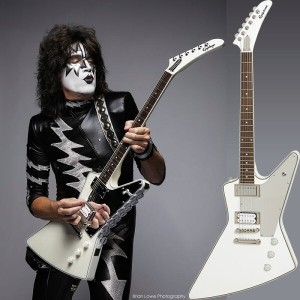"Epiphone by Gibson Limited Edition Tommy Thayer ""White Lightning"" Explorer Outfit"