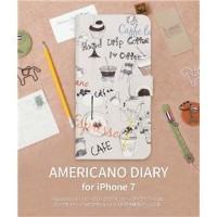 その他 Happymori iPhone7 Americano Diary ds-1941713
