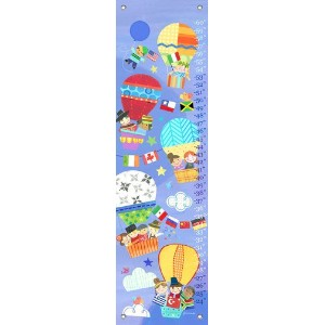 Oopsy Daisy Growth Chart, Going Up, 12 x 42 by Oopsy Daisy