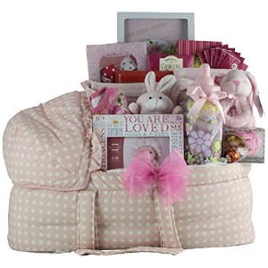 GreatArrivals Gift Baskets Best Wishes Baby, Girl by GreatArrivals Gift Baskets