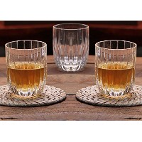 Scotch Whiskey Glasss is perfect for gift givingとホームBarware。6のセット、RocksスタイルGlasswareは優れたfor Bourbon...