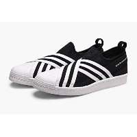 日本国内正規品 【adidas Originals by White Mountaineering】 スーパースター[WM SUPERSTAR SLIP ON] ブラック/ホワイト BY2880...
