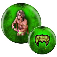 WWE WrestlemaniaスーパースターThe Ultimate Warrior Bowling ball- Limited Edition
