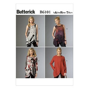 Butterick Patterns B6101 Misses' Tunic, Size Y by BUTTERICK PATTERNS