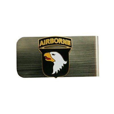 US Army 101st Airborne Divisionお金クリップ
