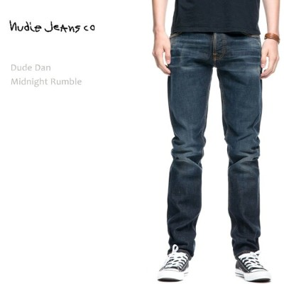 【SALE】NUDIE JEANS(ヌーディー ジーンズ)DUDE DAN Midnight Rumble