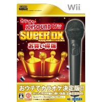 【カラオケJOYSOUND Wii SUPER DX お買い得版】 b005xtrfb0