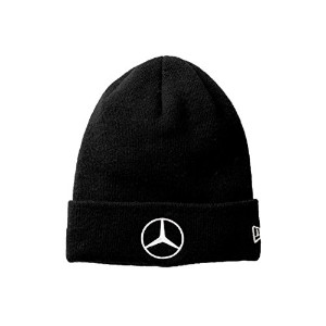 【Mercedes-Benz Collection】 Mercedes-Benz × NEW ERA BASIC CUFF KNIT ブラック