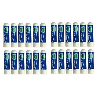 24 x Vick's Nasal Inhaler Great for Cold, Sinus & Allergy- by Vicks