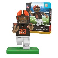 NFL Cleveland Browns gen4 Limited Edition Joe Haden Mini Figure、スモール、ホワイト