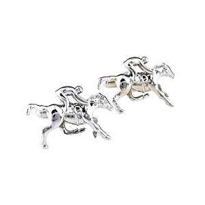 SS Durby Horse with Jockey Cufflinks for Men