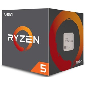 AMD CPU Ryzen5 1500X with Wraith Spire 65W cooler AM4 YD150XBBAEBOX