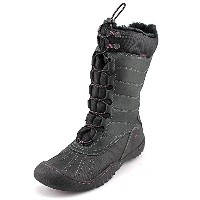 JBU Womens Longview Closed Toe Cold Weather Boots, Black, Size 7