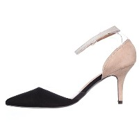 Chinese Laundry Womens Off Limits Pointed Toe Ankle Strap D-orsay Pumps, Black, Size 10