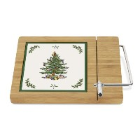 Spode Christmas Tree Bamboo Cheese Board by Spode