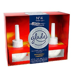【glade/グレード】 プラグインオイル 詰替え用リフィル(2個入り) パチョリアンバー Glade Plugins Scented Oil Atmosphere Collection...