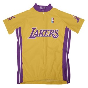 NBA Los Angeles Lakers Women 's Short Sleeve Cycling Jersey S