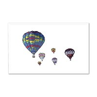 ホットAir Balloons – アイコン 6 x 4 Acrylic Photo Block Decor LANT-3P-AC-PB-72484-4x6