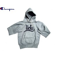 """CHAMPION(チャンピオン)/CLASSIC COLLAGE REVERSE WEAVE PULLOVER HOODIE """"UCLA""""/made in U.S.A./ox grey"""
