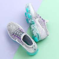 NIKE W AIR VAPORMAX FLYKNIT (ナイキ ウィメンズ エア ヴェイパーマックス フライニット )(COOL GREY/WHITE-PURE PLATINUM-WOLF...