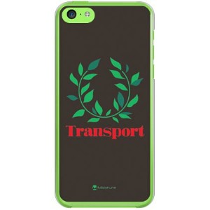 【送料無料】 Transport LSoftBankrel ブラック (クリア) / for iPhone 5c/SoftBank 【SECOND SKIN】【ハードケース】iPhone5cカバー...
