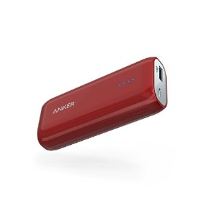 Anker Astro E1 5200mAh コンパクトモバイルバッテリー 急速充電可 iPhone&Android対応 ポーチ付 A1211092 …