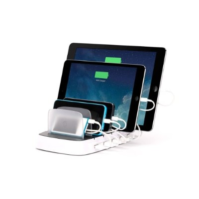 Griffin PowerDock 5 for all iPad iPhone and iPod touch ホワイト 18828