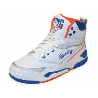 Ewing Athletics Ewing Center HI White Blue Orange Basketball Schuhe Shoes Men