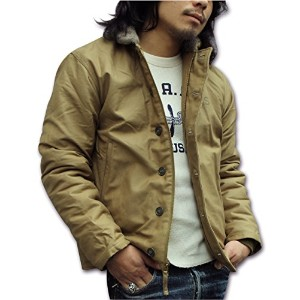 BUZZ RICKSON'S(バズリクソンズ)N-1 DECK JACKET BR12031-01 Khaki S