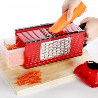 SUMCOO Kitchen Tools Set,Food And Vegetables Mandoline Slicer With Blades For Fruit And Cheese...