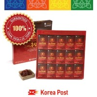 Deokwon Honeyed Korean Red Ginseng Slices 300g(20g x 15pieces) by Korea Post