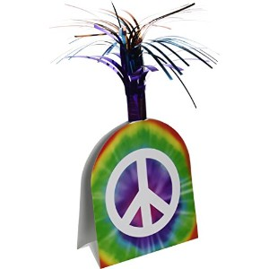 Peace Sign Centerpiece Party Accessory ( 1 Count ) ( 1 / Pkg )