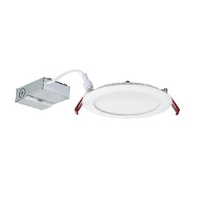 Lithonia Lighting wf6 LL LED調光機能付きRecessed天井ライト 2700K | Warm White WF6 LL LED 27K MW M6 1