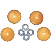 Handi Clamp Wooden Ball Knobs 4/Pkg- (並行輸入品)