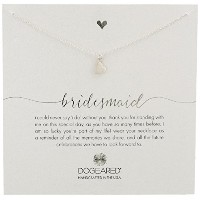 "[ドギャード]Dogeared Bridesmaid, Sideways Heart Silver Necklace, 16""+3"" Extender ネックレス ジュエリー[並行輸入品]"