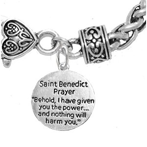 Saint Benedict Prayer and Protectiveチャーム危害からの保護、Me、Evilから、from the Devil。ニッケル、鉛カドミウムフリー