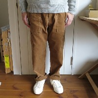 ENDS and MEANS Cord Mechanic Trousers エンズアンドミーンズ コード メカニック トラウザー