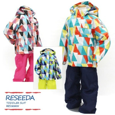 RESEEDA〔レセーダ スキーウェア キッズ〕 2018 TODDLER SUIT RES50005【上下セット】【サイズ調節可能】〔Sale〕