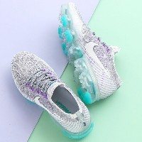 NIKE W AIR VAPORMAX FLYKNIT E (ナイキ ウィメンズ エア ヴェイパーマックス フライニット E)COOL GREY/WHITE-PURE PLATINUM-WOLF...