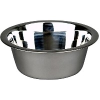 Advance Pet Products Stainless Steel Heavy Feeding Bowl, 1-Pint by Advance Pet Products