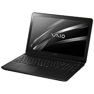 VAIO 15.5型ノートパソコン VAIO Fit15E ブラック(Office Home&Business Premium) VJF15690211B