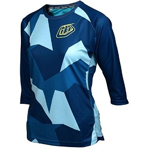 Troy Lee Designs RuckusレディースBMX Racing Jersey – ブラック S