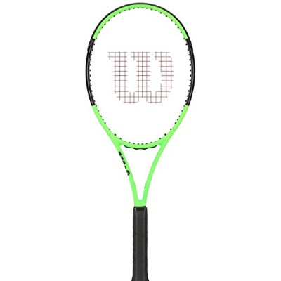 Wilson Blade 98 18 x 20 Countervail Limited Editionテニスラケット、ライムグリーン/ブラック グリーン