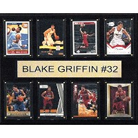 Cと私Collectables NBA 15W x 12h in。Blake Griffinロサンゼルス・クリッパーズ8カードPlaque ブラウン