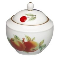 Royal Worcester Evesham Gold Sugar Bowl by Royal Worcester