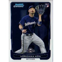 青木宣親 2012 Topps Bowman Chrome Rookie Card Norichika Aoki