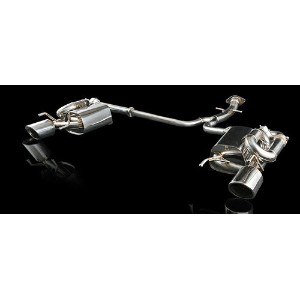 EXART iVSC Exhaust System レクサス IS250/IS350 GSE20/GSE21/GSE25用 (EA01-LX100)【マフラー】エクスアート エキゾーストシステム...